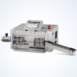 Cutting and stripping machines